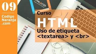 HTML: Como usar la etiqueta textarea para ingresar textos largos