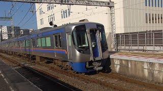 西鉄3000形(6両) 3016F+3006F A171列車 特急 大牟田行 西鉄久留米到着