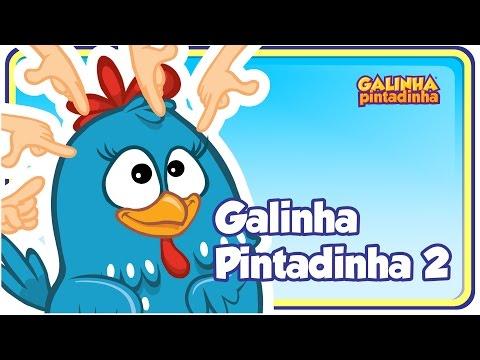 Galinha Pintadinha 2 - DVD infantil Galinha Pintadinha 2