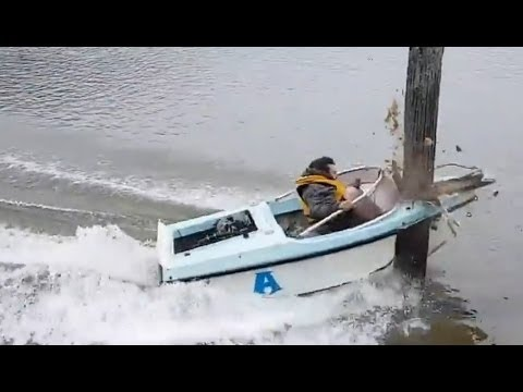 Image result for boat crashing