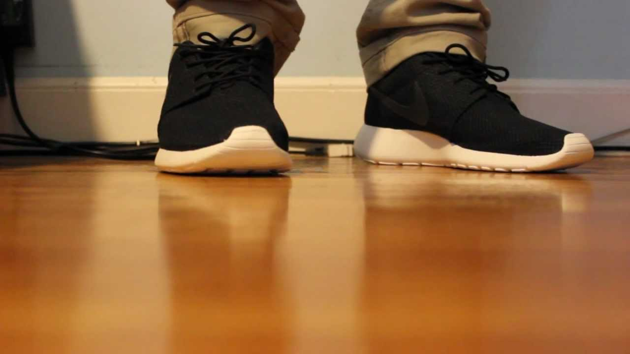 Nike Roshe Run Black color way review