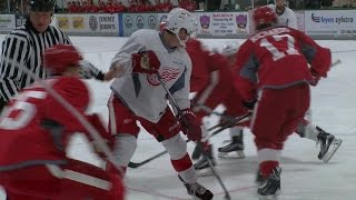 Red Wings prospect Dylan Larkin aims to make roster, as he makes home preseason debut