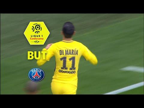 But Angel DI MARIA (21') / OGC Nice - Paris Saint-Germain (1-2)  (OGCN-PARIS)/ 2017-18