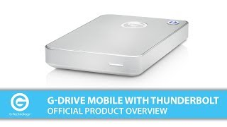 G-DRIVE mobile with Thunderbolt | Official Product Overview