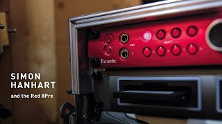 The Red 8Pre and Simon Hanhart // Focusrite Pro