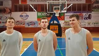 dc5a75f62 Ján Zorvan, Jakub Kádaši a Jakub Mokráň pozývajú na zápas BC Prievidza vs  BKM Lučenec