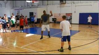 Thaddeus Young Instructs at his 1st Annual Camp (and dunk!)