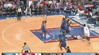 Iverson Crossovered by Rodney Stuckey