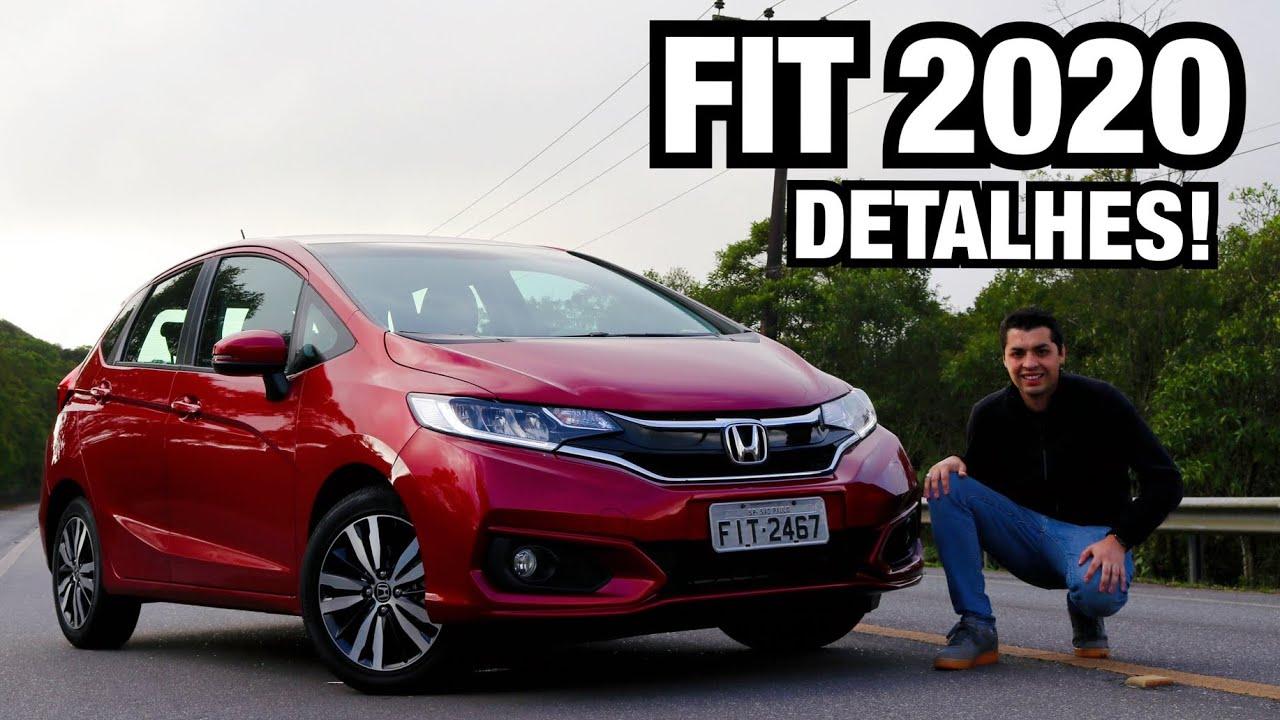 Honda Fit Exl 2020 Em Detalhes Falando De Carro Youtube