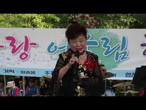 가수 김화자  가버린사랑  효사랑어울림한마당 소요산특설공연장 2019 6 2