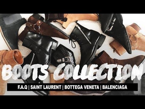 My Boots Collection (Ft. Saint Laurent, Bottega Veneta & Balenciaga)