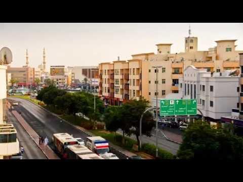 Timelapse at Al Jafiliya Emirates Coop BLDG (Facing Al Satwa Rd)