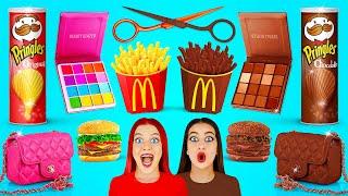 Chocolate Food vs Real Food Ch…