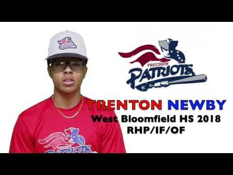 TRENTON NEWBY Baseball Skills Video 032017