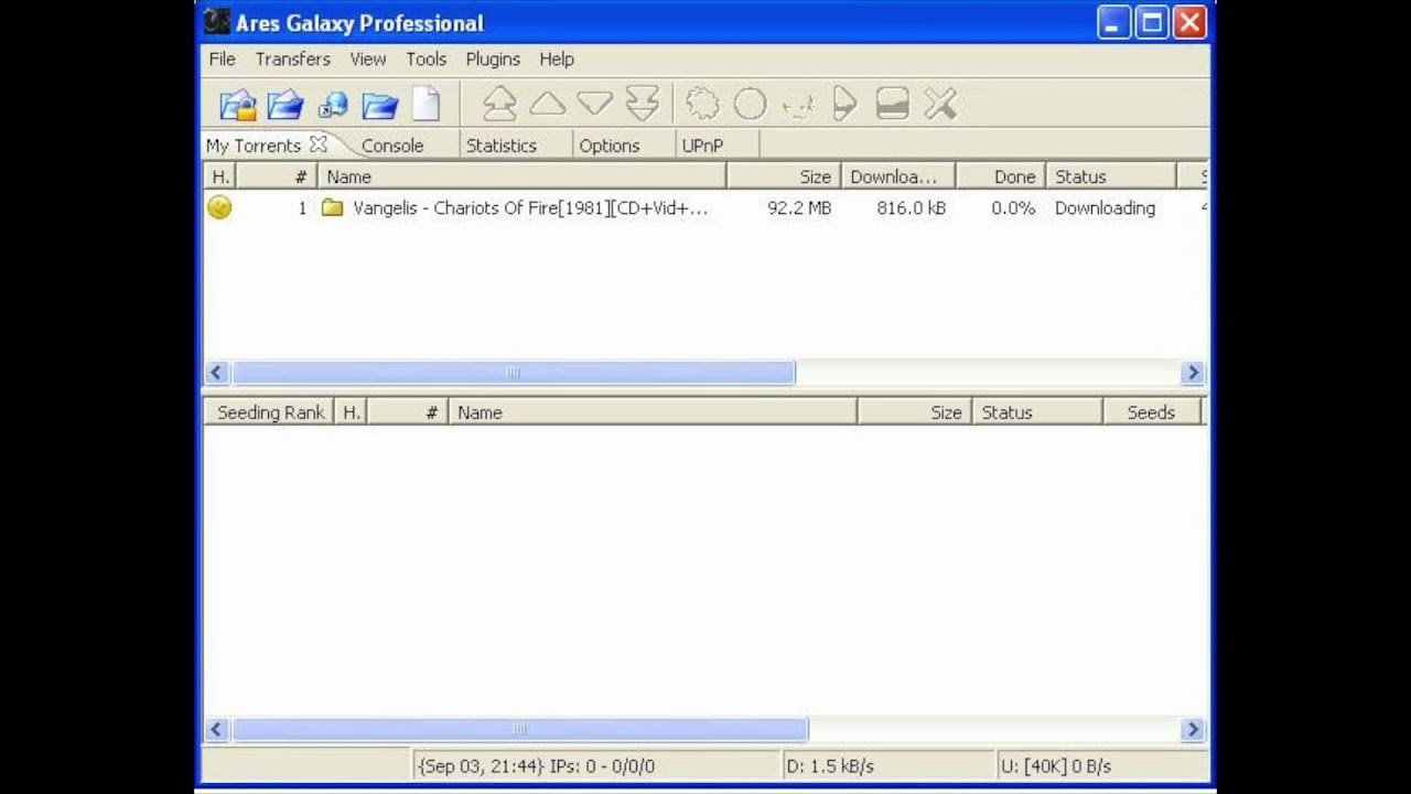 old version ares 2.0.9 download