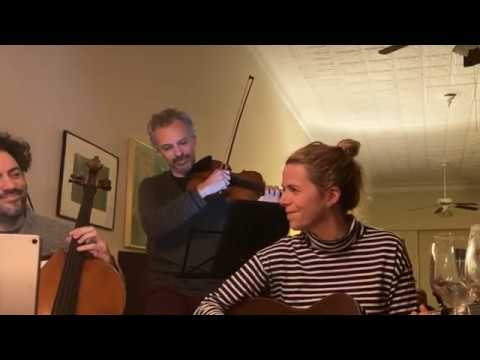 "Live from Home _ ""The Lakes of Pontchartrain"" _ Aoife O'Donovan • Eric Jacobsen • Colin Jacobsen"
