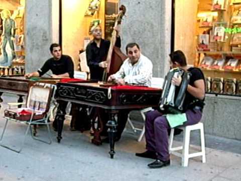 Músicos en la calle