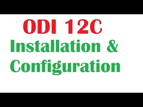 Oracle Data Integrator 12c Installations and Configuration in Windows 8