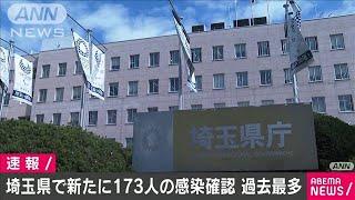新型コロナ 埼玉県の新たな感染者173人 過去最多(2020年11月21日) - YouTube