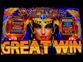HIGH LIMIT $7.50 Bets on Scarab Slot Machine - Winning at Park MGM w/ Mom!