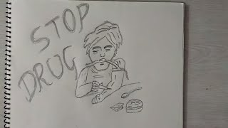 How to draw Stop Drug