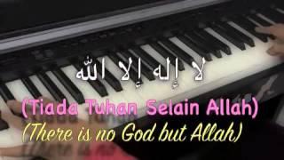 Ainan Tasneem~~ Hanya PadaMu~~ Piano Cover with Lyrics.