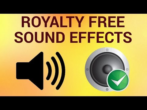 How To Find Royalty Free Sound Effects