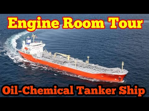 Engine Room Tour of a Oil-Chemical Tanker Ship | Life At Sea | Mariner Mahbub