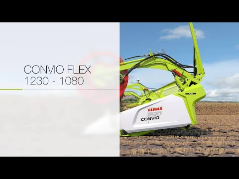 Foto von New CLAAS draper CONVIO FLEX 1230-1080. Animation.