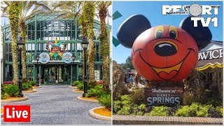 🔴Live: Halloween Fun at Disney Springs & Port Orleans French Quarter 1080p - 10-18-19
