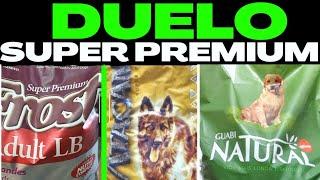 DUELO DAS SUPER PREMIUM ➡️ Ração GUABI NATURAL x FROST LB x ATACAMA | Ração Super Premium