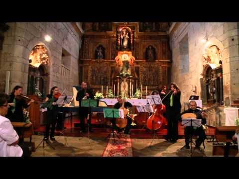 G. P. Telemann: Concerto para frauta e gamba TWV52:a1 I. Grave