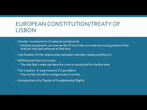 Unit 3 Lesson 4 EU  Policy Making and Economic Issues