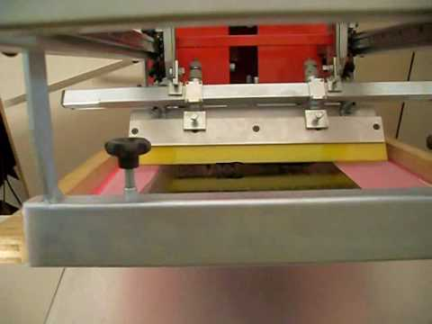 Impressora plana semi-automática PFP-02S FINEPRINT
