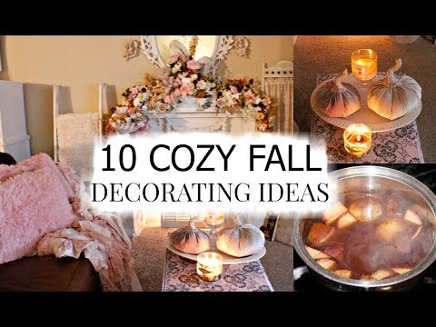 "🍁10 COZY FALL DECORATING IDEAS ""I LOVE FALL"" ep. 11 🍁"
