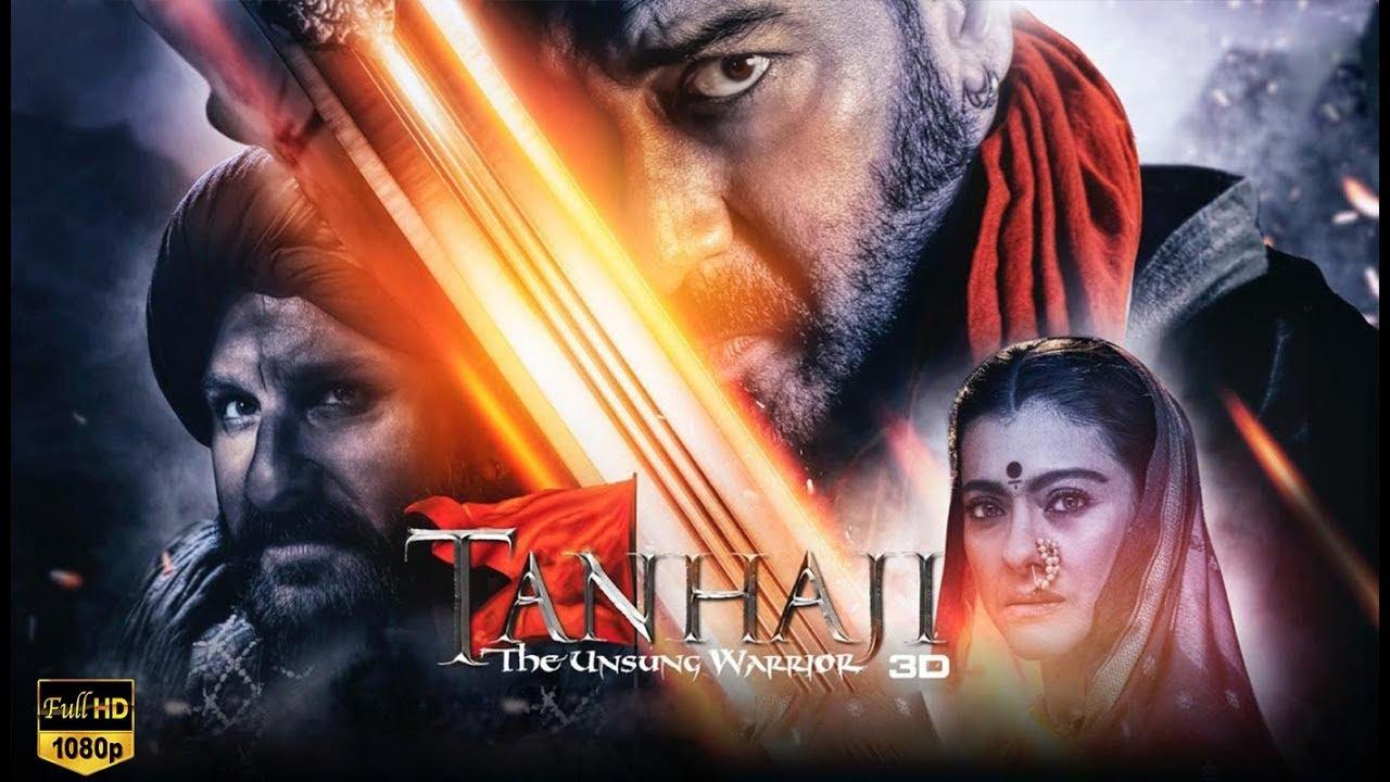 Download Tanhaji: The Unsung Warrior   Full Movie HD facts   Ajay D, Saif Ali K, Kajol  Om Raut  10 Jan 20202