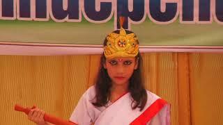 Sarawati Vandana By Khushi S.K.S. Global School, Basu, Raya