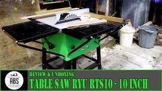 Table saw RYU RTS10 - Unboxing||Review||Test Cut - INDONESIA MP3