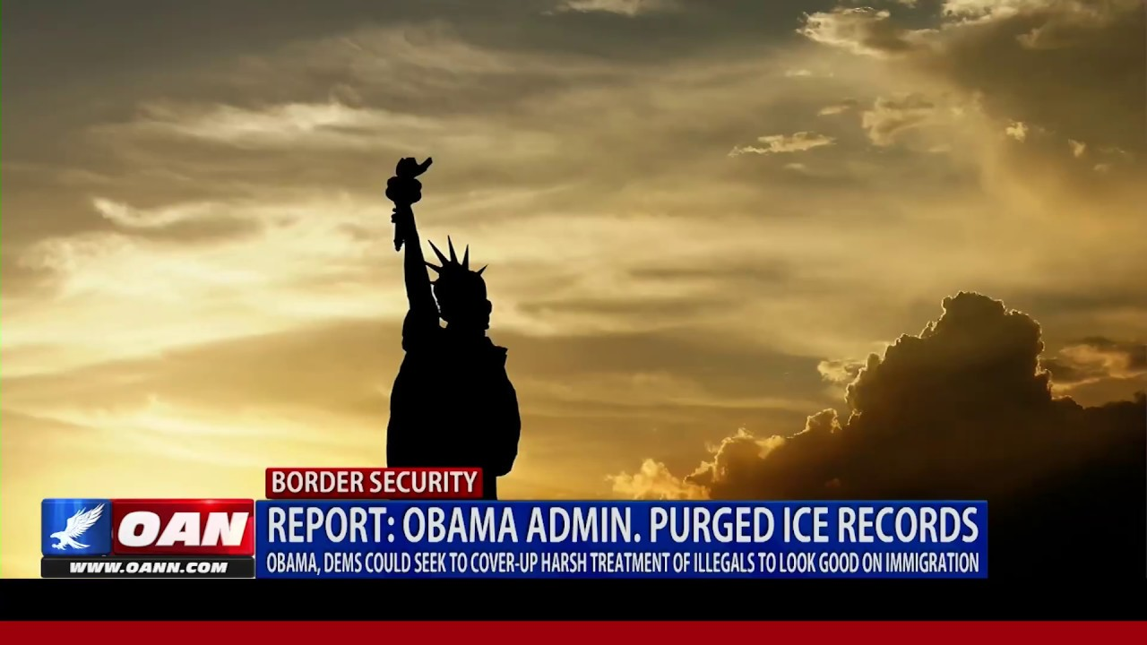 Report: Obama admin. purged ICE records