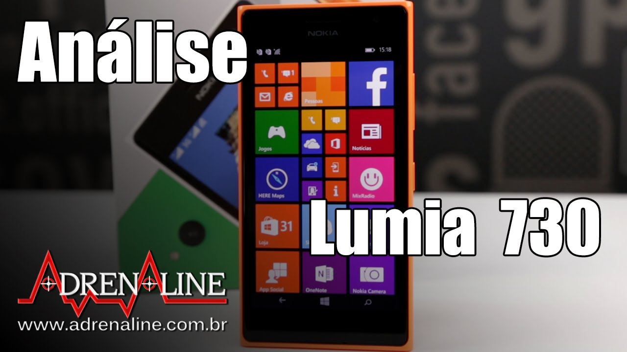 154bc89ce2e Análise Smartphone Nokia Lumia 730 Dual SIM - Adrenaline