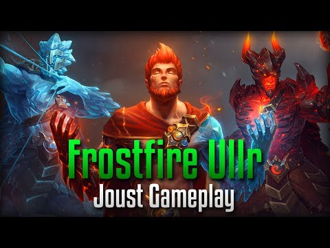 Smite: FIRE AND ICE- Frostfire (Tier 5) Ullr Joust Gameplay