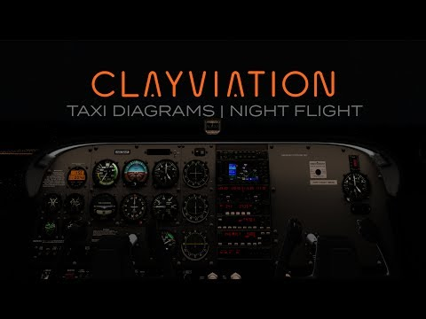 Bucket List Flights: Bound For The Bahamas | Leg 6: Taxi Diagrams & Night Flight | X-Plane 11
