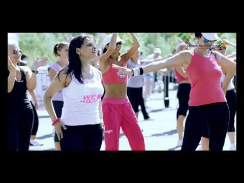 """Zumba Romania la Maratonul """"Miscarea face bine"""" by Romtelecom !"""