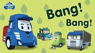 First English with Poli Bang! Bang!   Robocar Poli Special