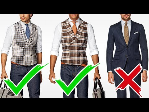 No Suit No Problem How To Look Sharp Without Suits Youtube