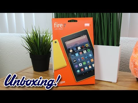 Unboxing: Amazon Fire 7 Tablet with Alexa (New for 2017)