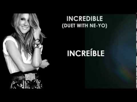 Céline Dion - Incredible (duet with...