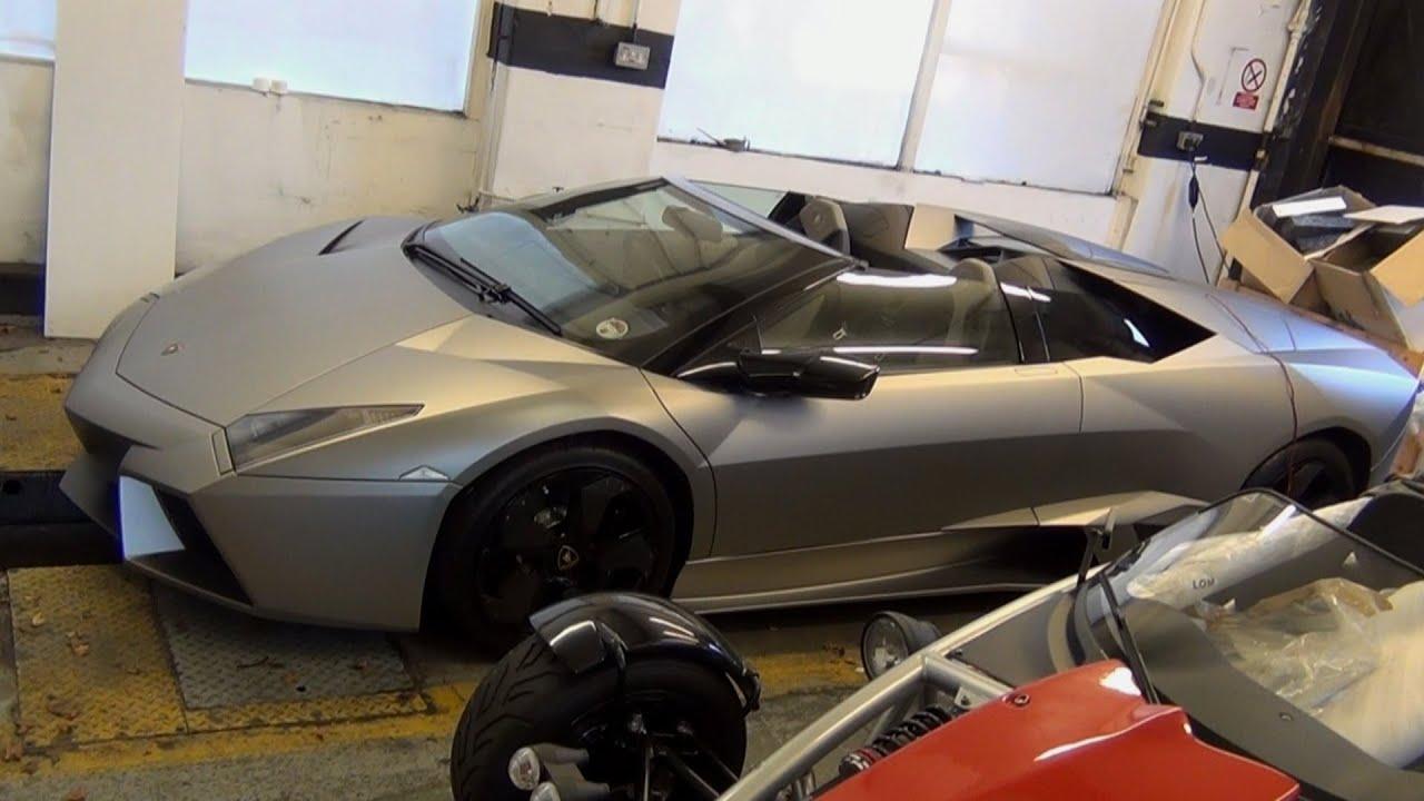 2013 Lamborghini Reventon Interior