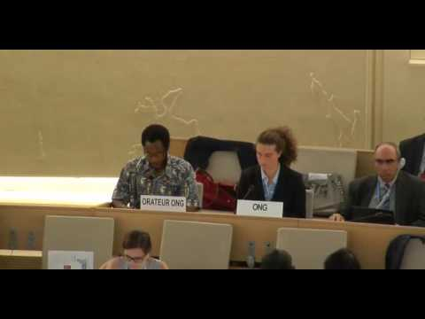 35th Regular Session Human Rights Council - General Debate Item:8 - Mr Kobia