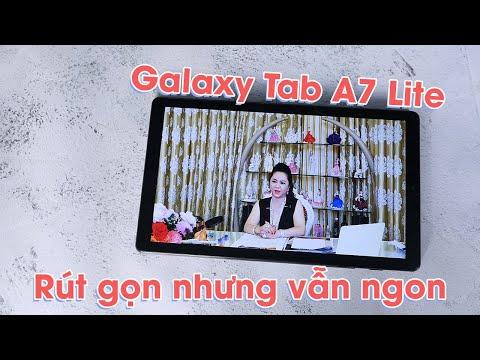 Trên tay nhanh Galaxy Tab A7 Lite: giá 4 triệu SHOCK kinh hoàng!!!